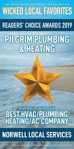Readers' Choice Awards 2019 Best HVAC/Plumbing Heating/AC Company